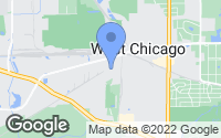 Map of West Chicago, IL