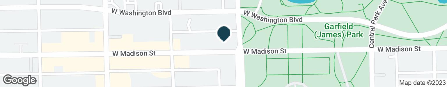 Google Map of3800 W MADISON ST