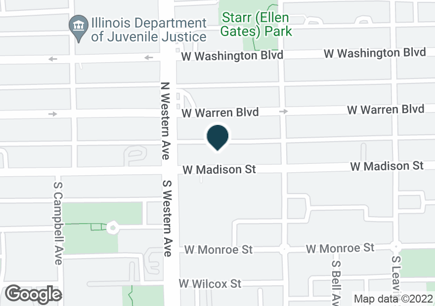 Google Map of2340 W MADISON ST