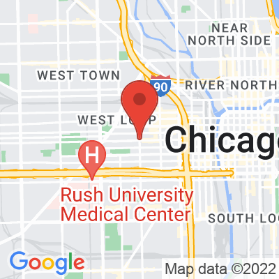 Map showing Groundswell Coffee Roasters