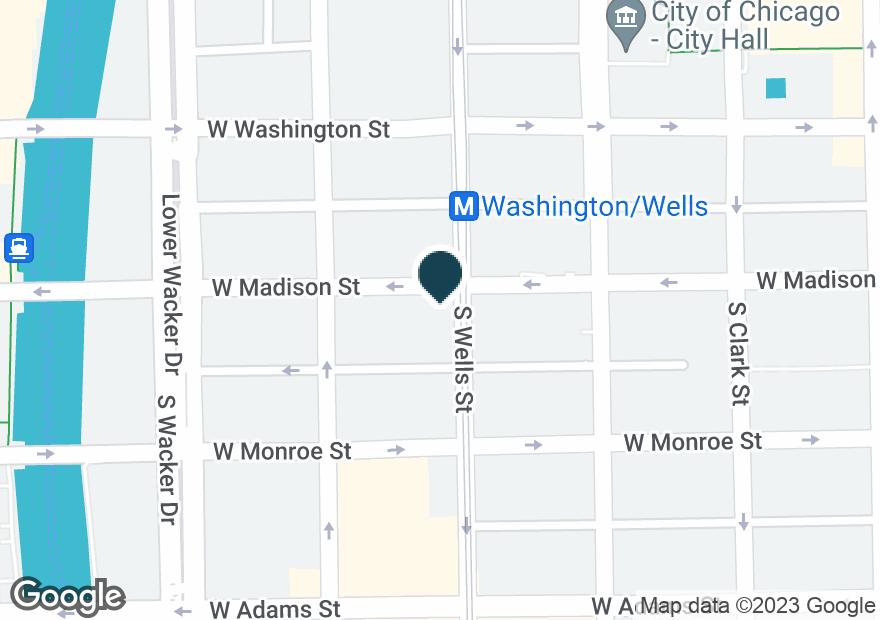 Google Map of201 W MADISON ST