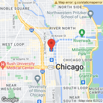 Map of Yext at 500 West Madison Street, Chicago, IL 60661