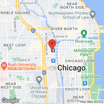 Map of Arby's at 500 W Madison St, Chicago, IL 60606