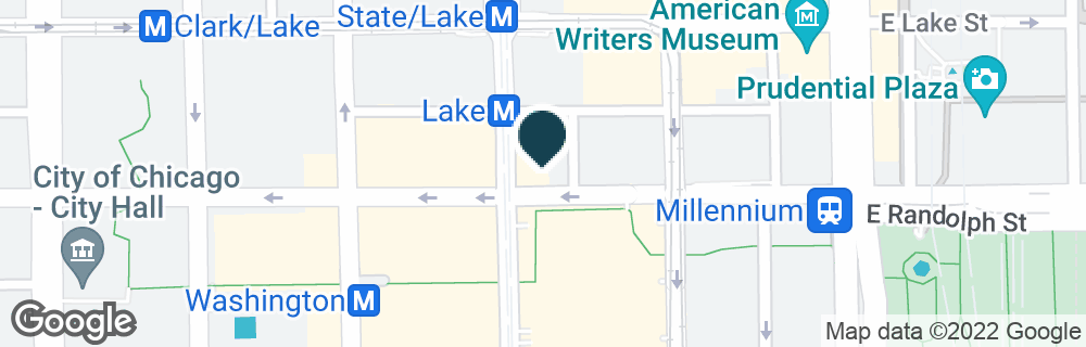Google Map of151 N STATE ST