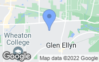 Map of Glen Ellyn, IL