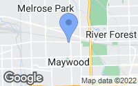 Map of Maywood, IL