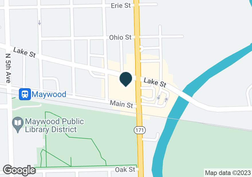 Google Map of100 LAKE ST