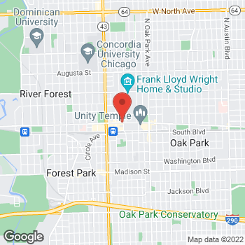 Map of Hair Cuttery at 1010 Lake Street, Oak Park, IL 60301