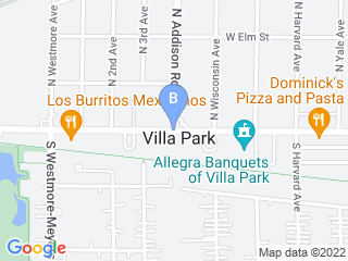 Map of Bow Wow Playground Doggie Daycare and Boarding Dog Boarding options in Villa Park | Boarding