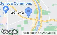 Map of Geneva, IL