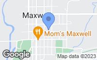 Map of Maxwell, IA