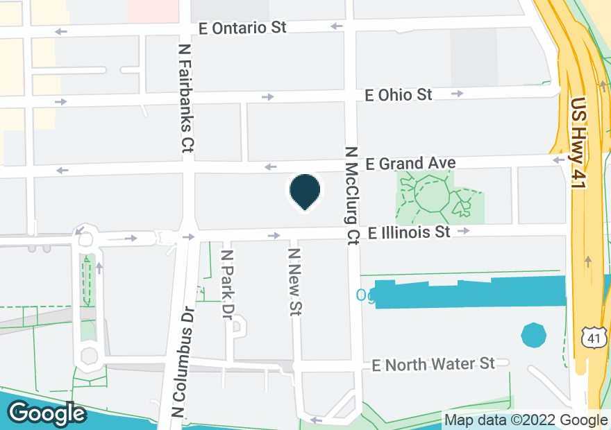 Google Map of342 E ILLINOIS ST