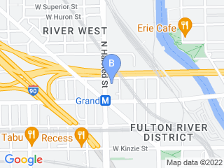 Map of Riverwest Dog Walkers Dog Boarding options in Chicago | Boarding