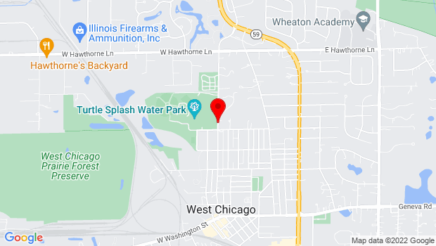 Google Map of Arbor and National, West Chicago, IL 60185