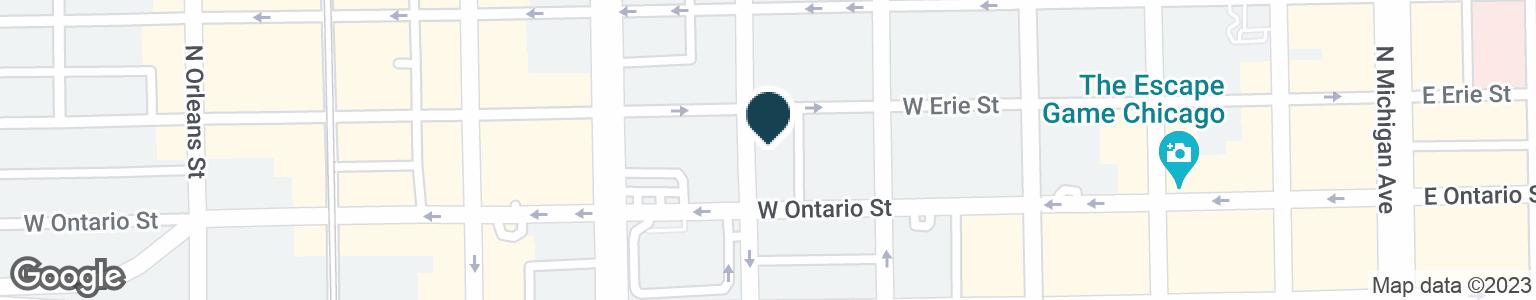 Google Map of641 N CLARK ST