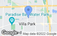 Map of Villa Park, IL