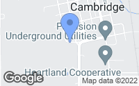 Map of Cambridge, IA