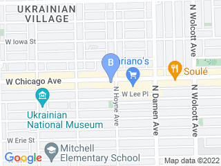 Map of Delta Animal Hospital Dog Boarding options in Chicago | Boarding