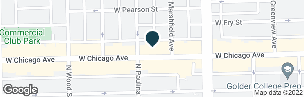 Google Map of1650 W CHICAGO AVE