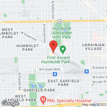 Map of Check `n Go Kedzie at 800 N Kedzie, Chicago, IL 60651