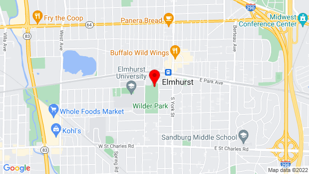 Google Map of 150 Cottage Hill Avenue, Elmhurst, IL 60126