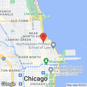 Map of Michael Kors Collection at 900 N Michigan Ave, Chicago, IL 60611