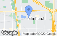 Map of Elmhurst, IL