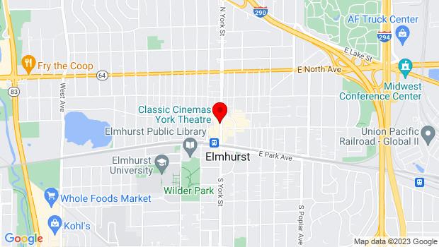 Google Map of 150 North York, Elmhurst, IL 60126