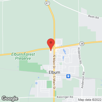 Map of Hair Cuttery at 850 N Main St, Elburn, IL 60119