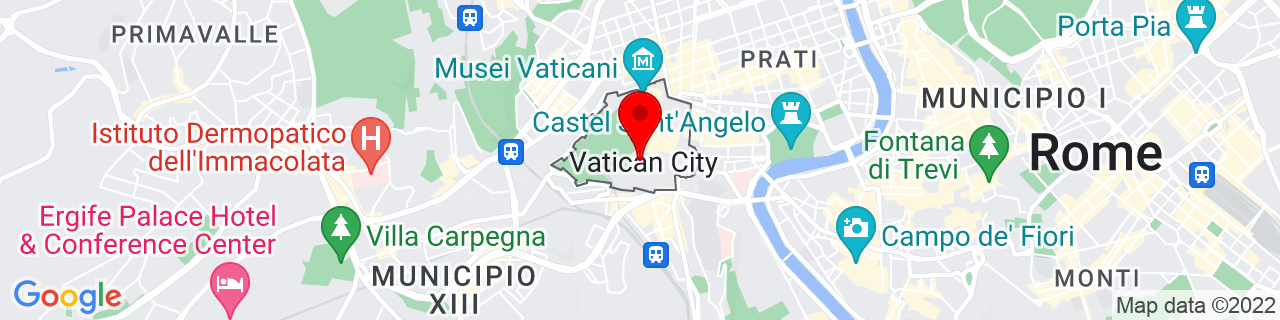 Google Map of 41.90222222222222, 12.453333333333333