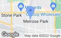 Map of Melrose Park, IL
