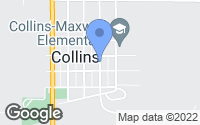 Map of Collins, IA