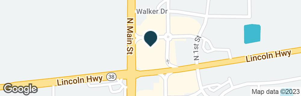 Google Map of1001 N MAIN ST