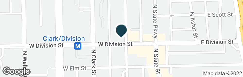 Google Map of1200 N DEARBORN ST