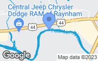 Map of Raynham, MA