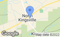 Map of North Kingsville, OH