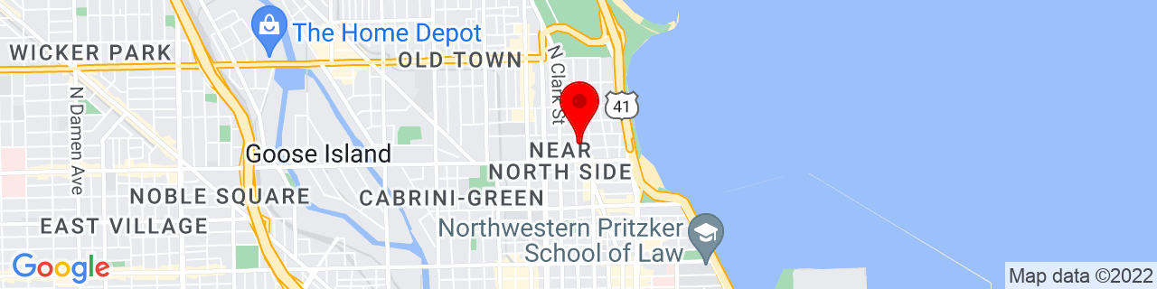 Google Map of 41.905063, -87.62965