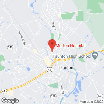 Map of Seema Byahatti, MD at 72 Washington Streetsuite 1600 Thayer, Taunton, MA 02780