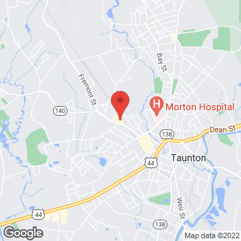 Map of Rite Aid at 51 Tremont Street, Taunton, MA 02780
