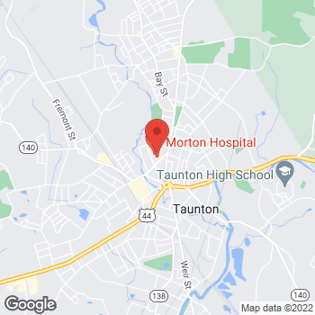 Map of Maria Molina, FACOG;MD at 72 Washington Streetsuite 1000, Taunton, MA 02780