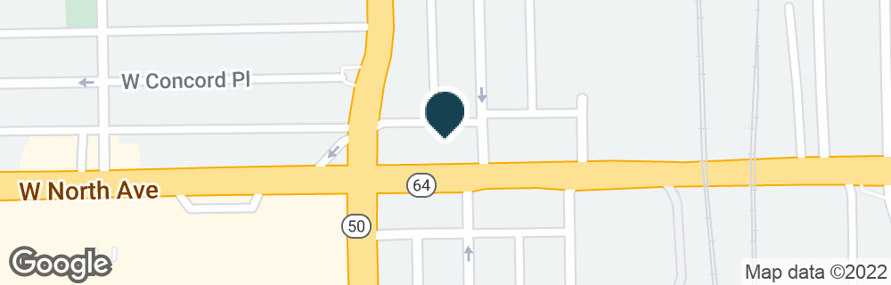 Google Map of4748 W NORTH AVE