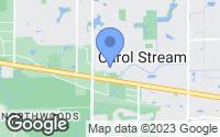 Map of Carol Stream, IL