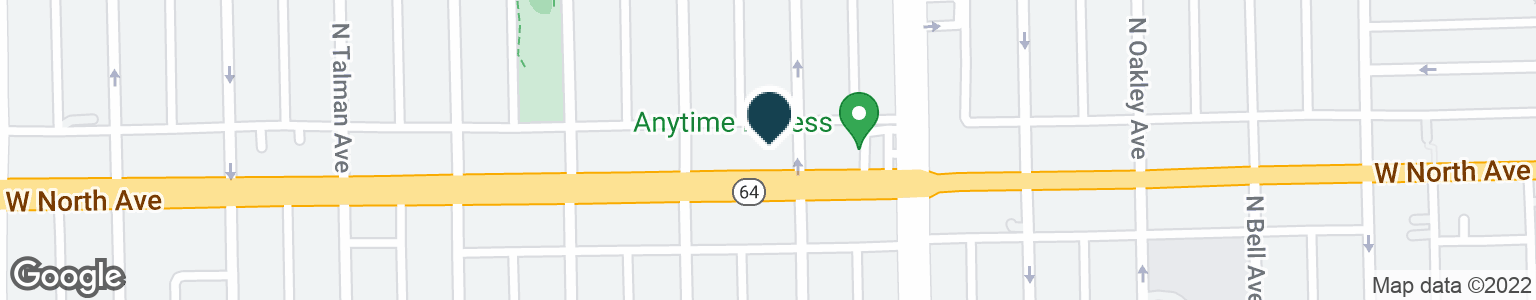 Google Map of2440 W NORTH AVE