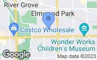 Map of Elmwood Park, IL