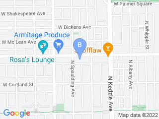 Map of Dogma Petcare Dog Boarding options in Chicago | Boarding