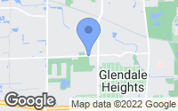 Map of Glendale Heights, IL