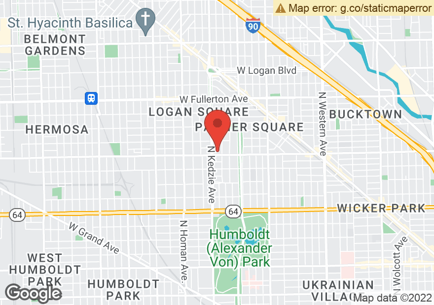 Google Map of 3110 W ARMITAGE AVE