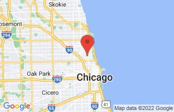 Map of Lincoln Park