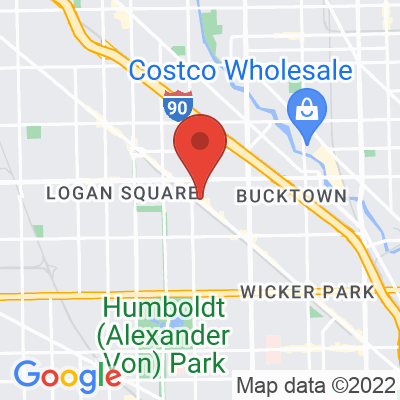 Map showing Colectivo Coffee — Logan Square