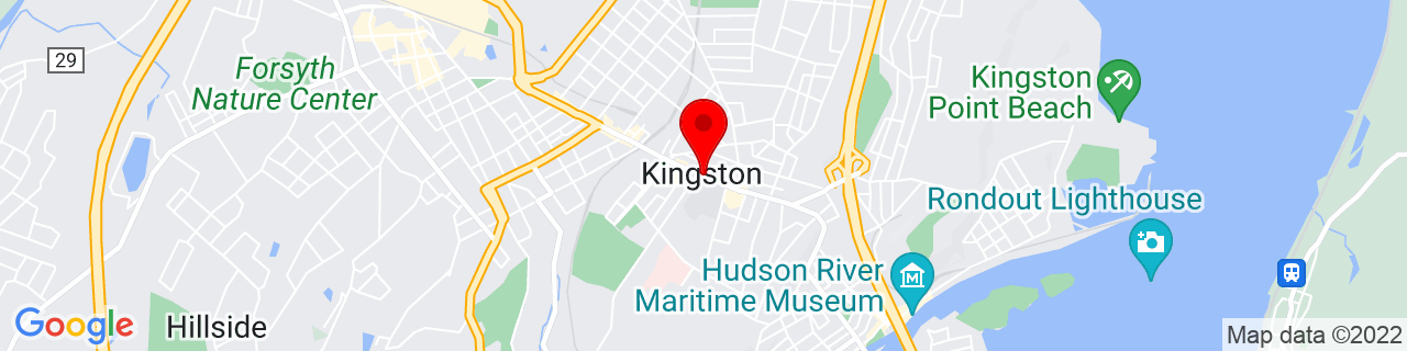 Google Map of 41.926944444444445, -73.99722222222222